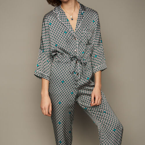 Printed jumpsuit : Trousers color PRINTED