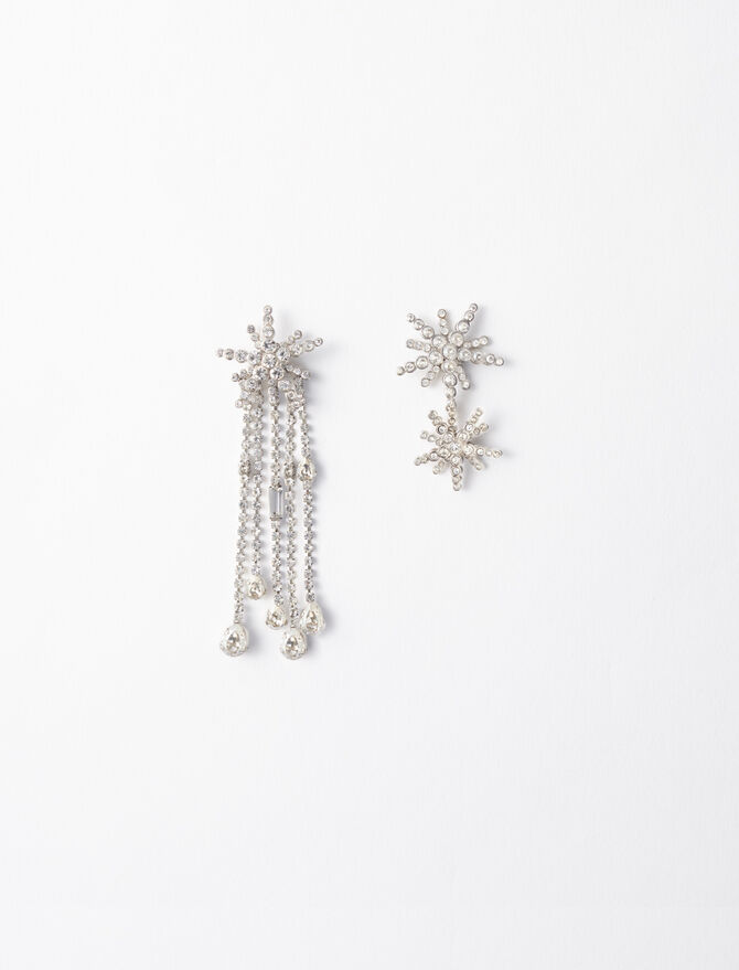 Star strass-earings -  - MAJE