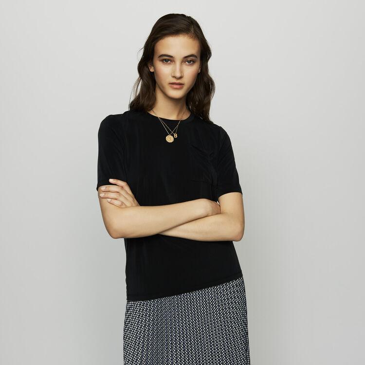 Cupro T-shirt : SoldesUK-All color Black 210