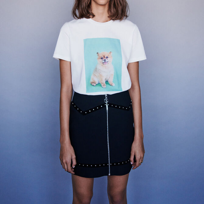 Tee-shirt imprimé - staff-private-sale - MAJE