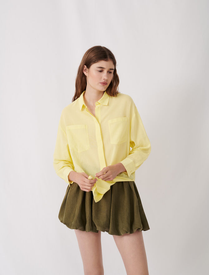Airy shirt -  - MAJE