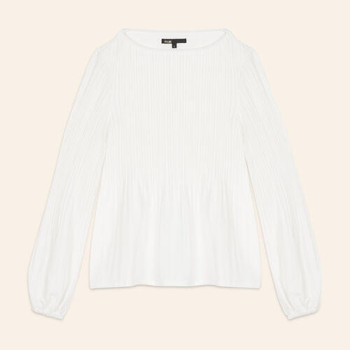 Top with lining : Tops color Ecru