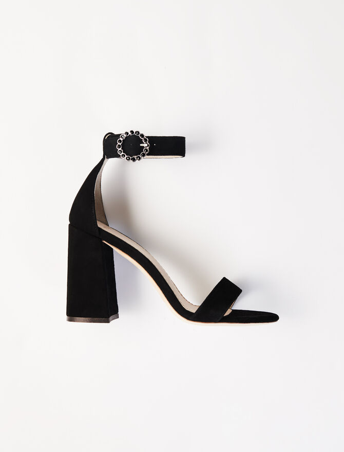 Heeled strappy sandals - Sandals - MAJE