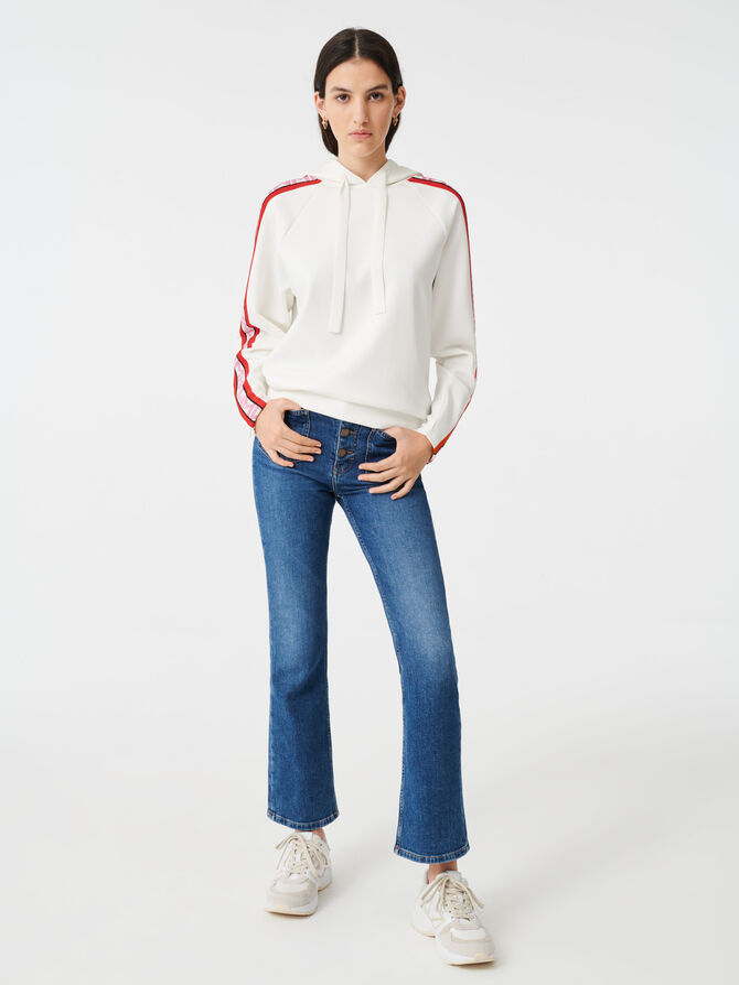 Hooded sweatshirt - Pullovers & Cardigans - MAJE