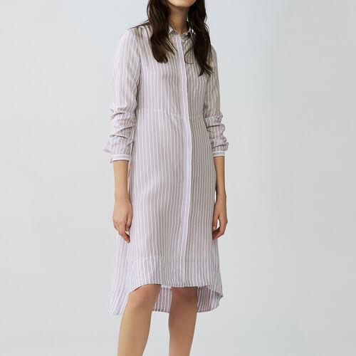 Striped dress : Dresses color Stripe