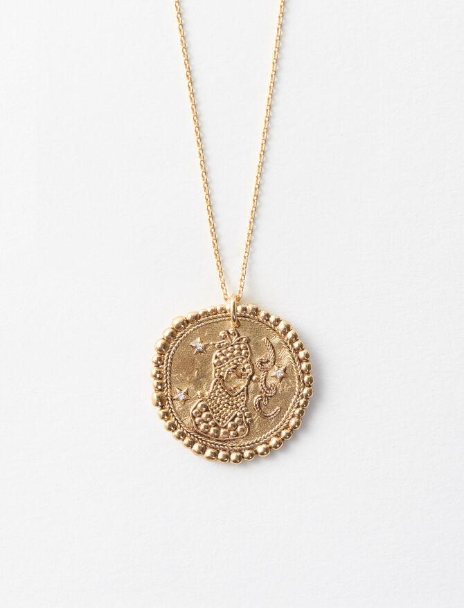 Virgo zodiac sign necklace -  - MAJE