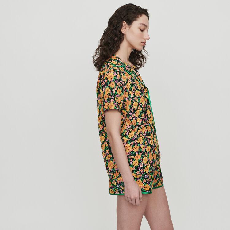 Pajama-style printed shirt : Tops & Shirts color Print