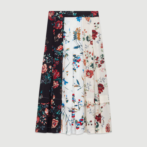 Midi skirt with pin print : New in : Summer Collection color Print