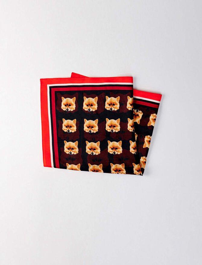 Silk scarf -  - MAJE