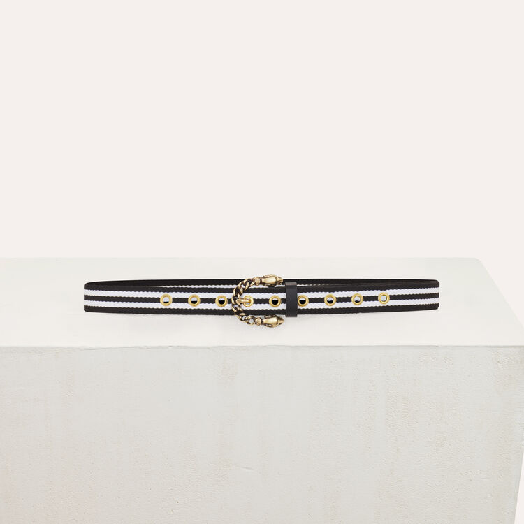 Textile belt : Belts color Two-Tone