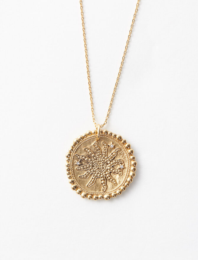 Constellation sun necklace -  - MAJE