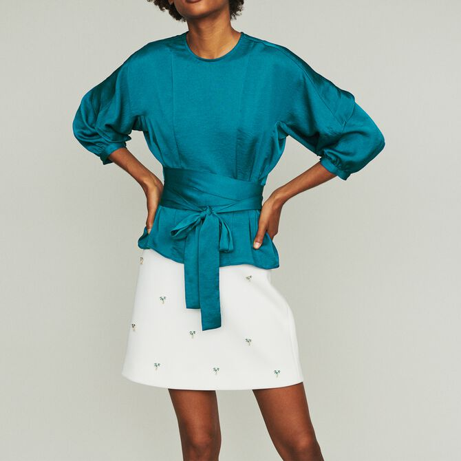 Top to tie - See all - MAJE