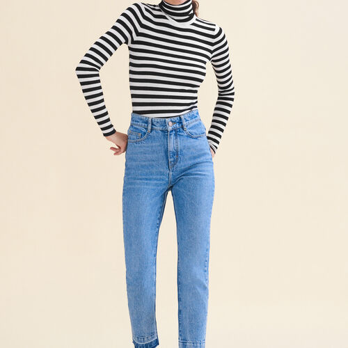 Faded skinny jeans : Trousers & Jeans color Blue
