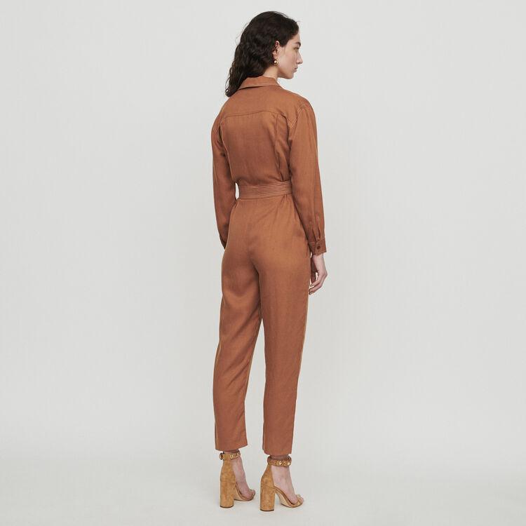 Shirt jumper : Trousers color Terracota