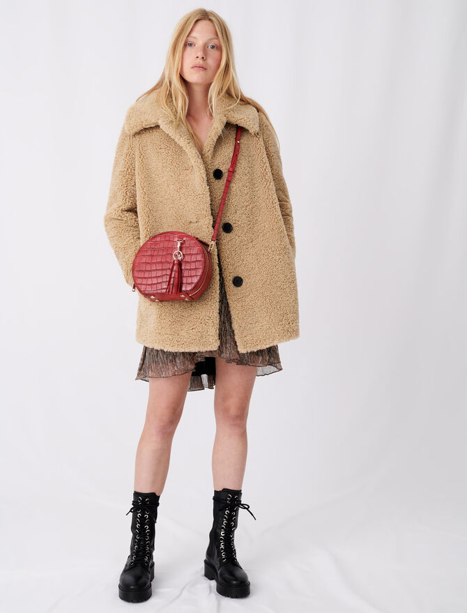 Fur-effect coat - New collection - MAJE