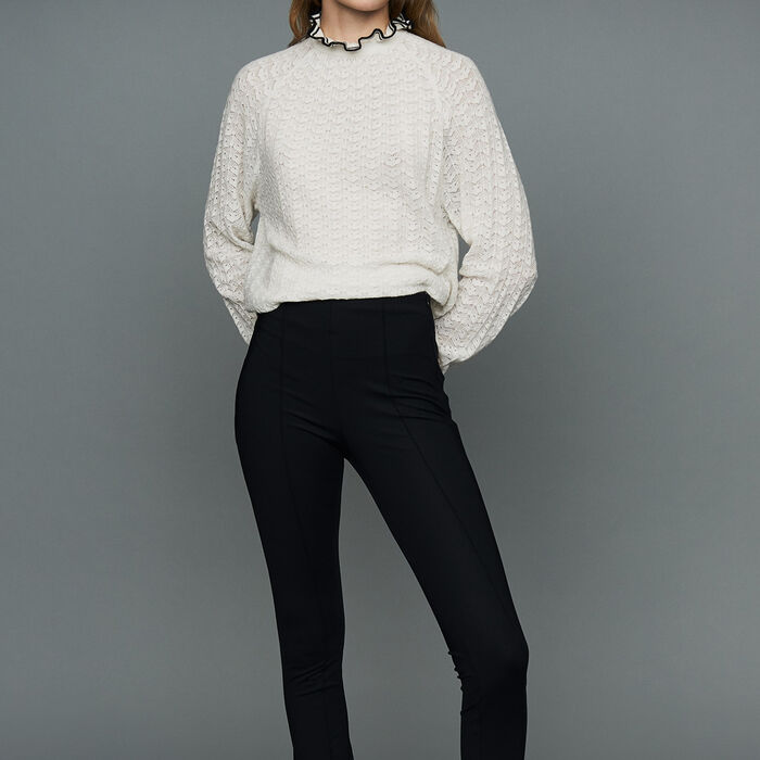 Sport legging : Trousers color Black 210