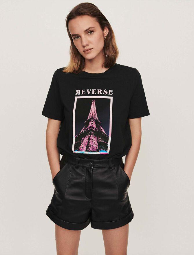 Tee-shirt sérigraphié - Pap_Tshirts - MAJE