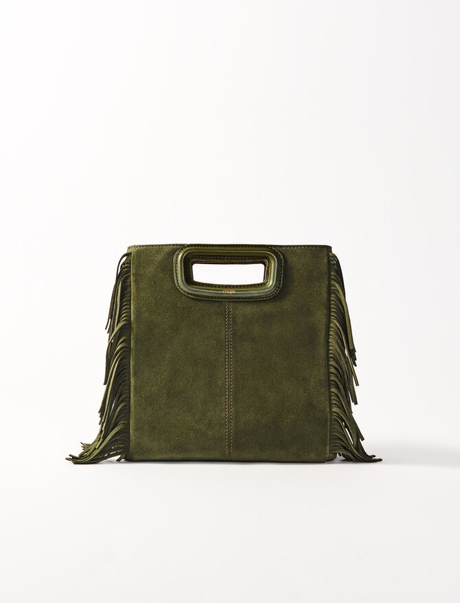 Suede M bag - All the collection - MAJE