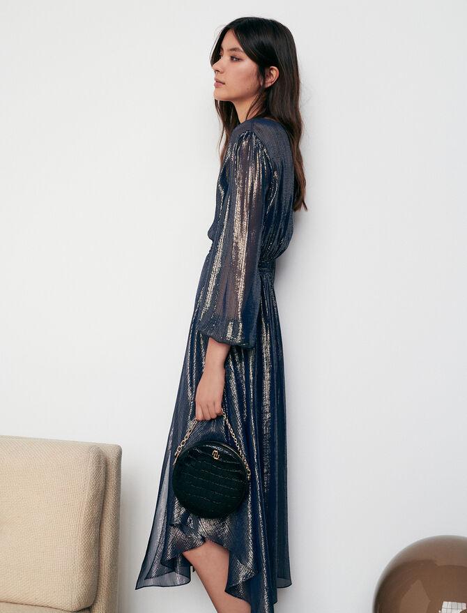 Asymmetric animal print dress - All - MAJE