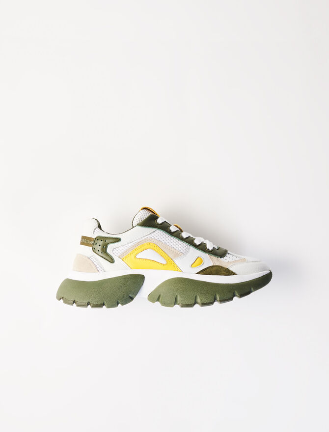 W20 two-tone trainers - Sneakers - MAJE