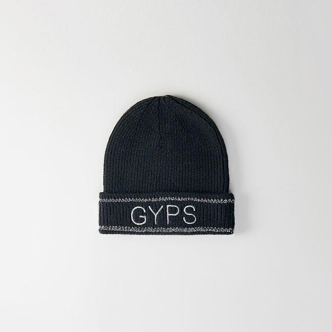 Bonnet en laine mélangée et Lurex Gyps - Accessoires_bonnets_bobs - MAJE