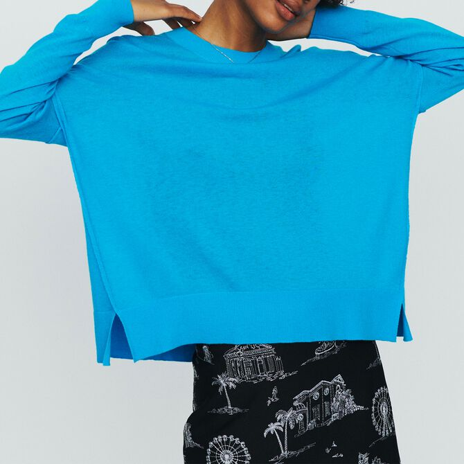 Oversize sweater in cashmere - See all - MAJE