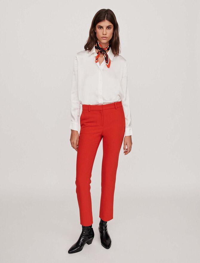 Pantalon droit - Pap_Pantalons - MAJE