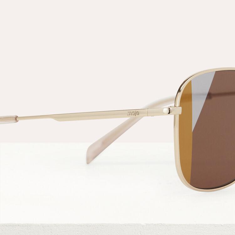 Lunettes de soleil en métal : Eyewear color Multico