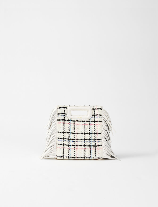 Tweed mini M bag - M bags - MAJE