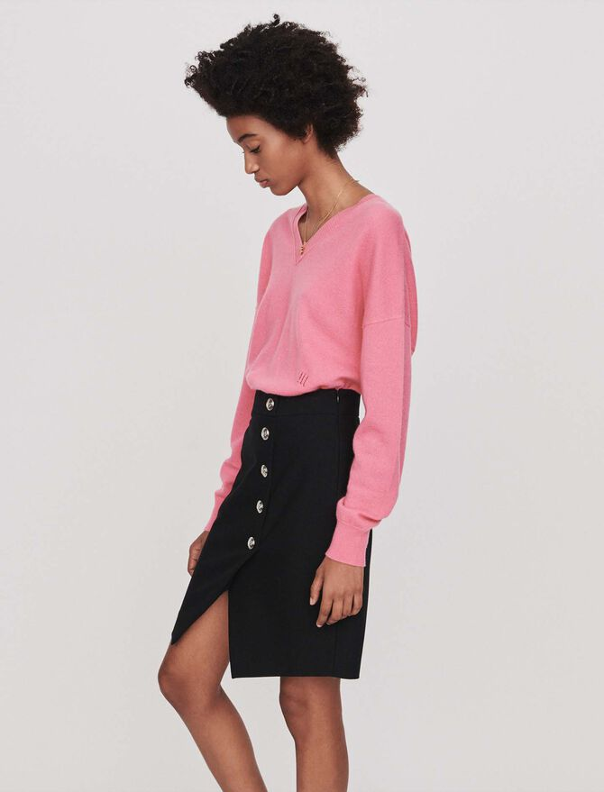 Pencil skirt with buttons - Skirts & Shorts - MAJE