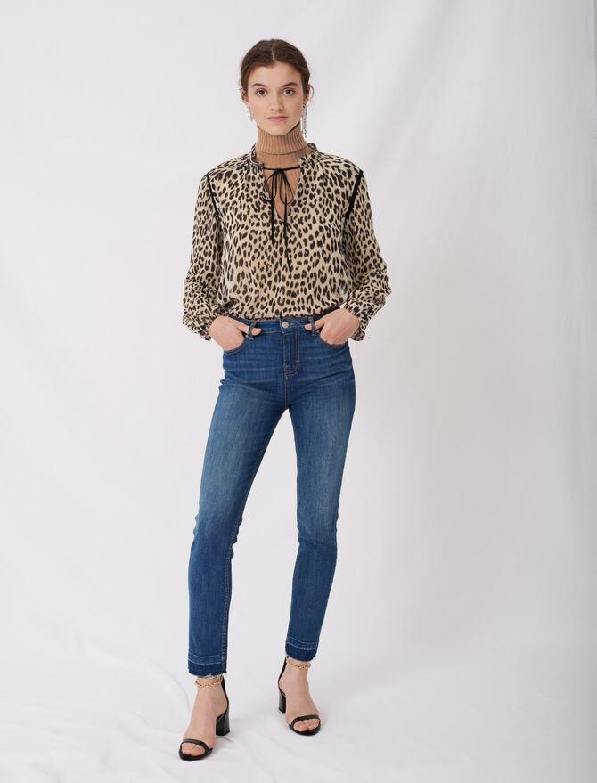 Jean slim basique - Pap_Pantalons-Jeans - MAJE