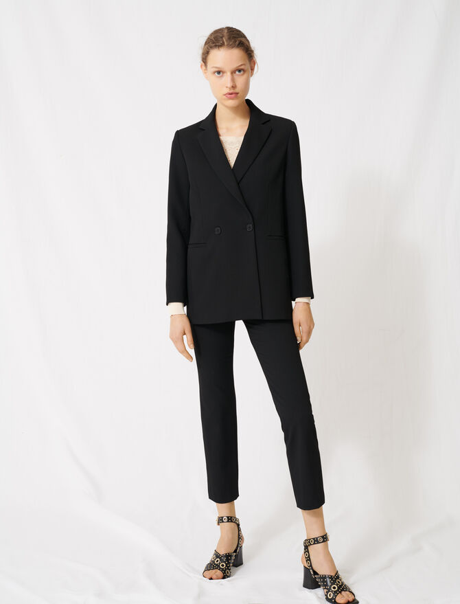 Double-breasted blazer - Blazers - MAJE