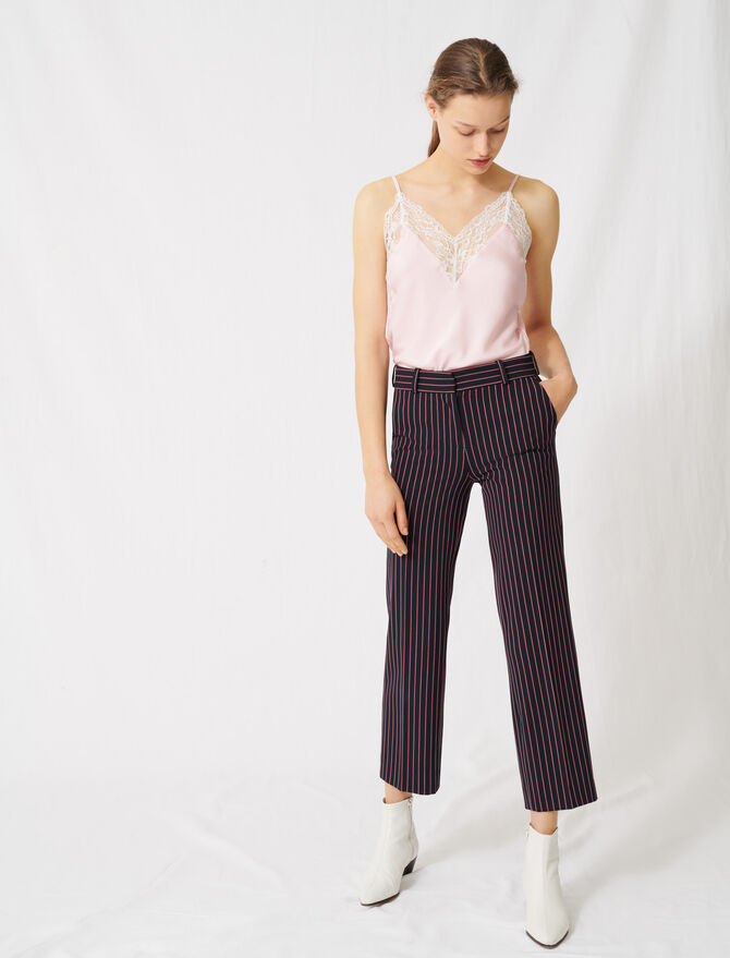 Striped suit trousers - Trousers & Jeans - MAJE