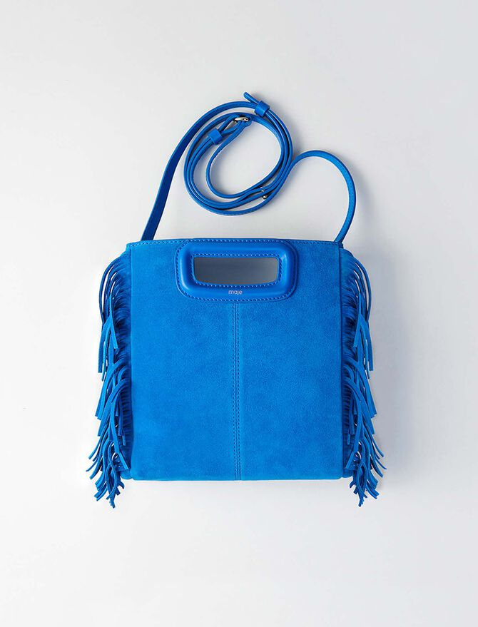 Suede M bag - Last Chance - MAJE