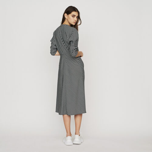Zipped midi dress with stripes : New in : Summer Collection color Stripe