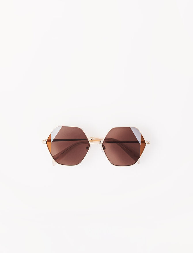 Seventies acetate sunglasses -  - MAJE