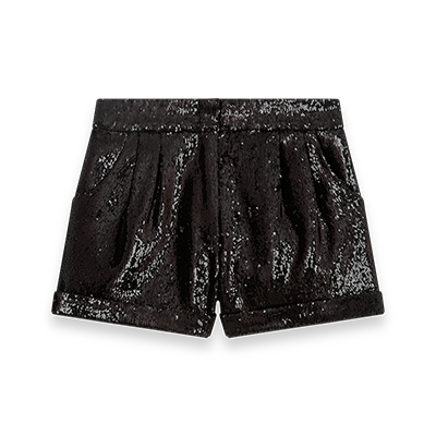 Sequin shorts - Evening Capsule : Astro Club - MAJE