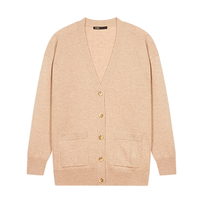 Cashmere cardigan - Pullovers & Cardigans - MAJE